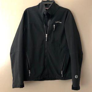 Eddie Bauer Black Softshell Jacket